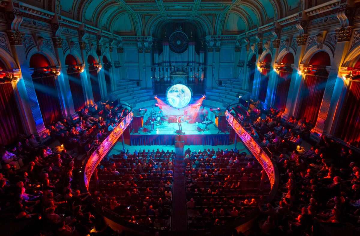 Huddersfield Town Hall with Nexo Geo
