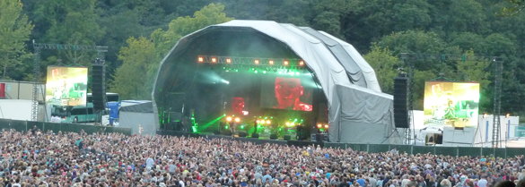 Chase and Status at Bingley Music Live 2012